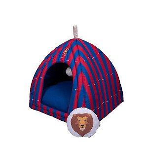 Cabana para Cachorro Woof Classic Circus Leonidas