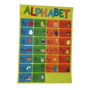 Pôster Alfabeto - Alphabet