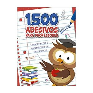 1500 Adesivos Para Professores - Em Inglês