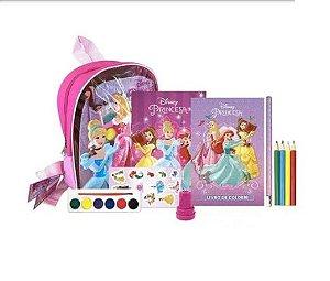 Mochila Disney com Atividades - Princesas