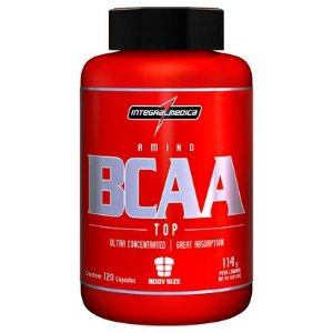 BCAA TOP 120CAPS INTEGRALMÉDICA