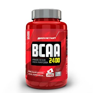 BCAA 2400 100 caps - BODY ACTION