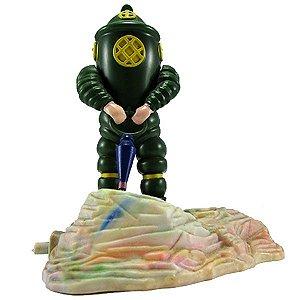 Enfeite de Aquário Aquaricenter Mergulhador Articulado