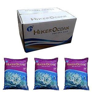 Sal Marinho Hiker Ocean com 3 pacotes de 6,7Kg