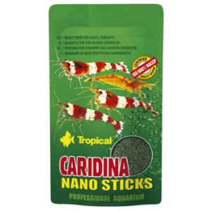 RaçãoTropical Caridina Nano Sticks Sachê 10g