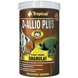 Ração Tropical D-Allio Plus Granulat 150g