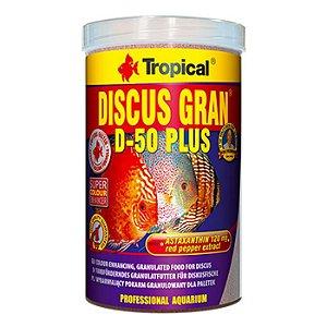 Ração Tropical Discus Gran D-50 Plus 440g