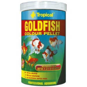 Ração Tropical Goldfish Colour Pellet 90g