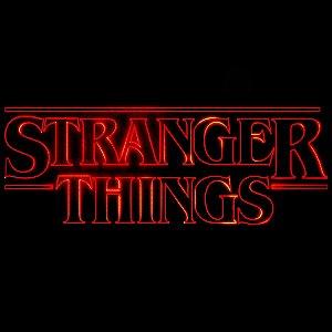 STRANGER THINGS - Logo - Frete Grátis