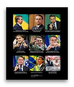 Poster JB MITO - Preto - Frete GRÁTIS p/ todo o Brasil