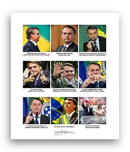 Poster JB MITO - Branco - Frete GRÁTIS p/ todo o Brasil