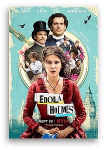 ENOLA HOLMES Poster filme - Frete GRÁTIS p/ todo o Brasil