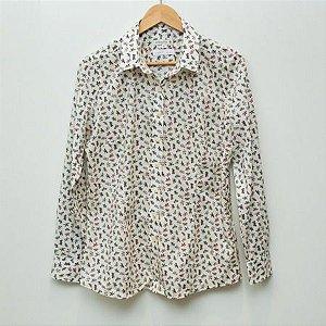 Camisa Feminina Dudalina estampa Liberty - N 42