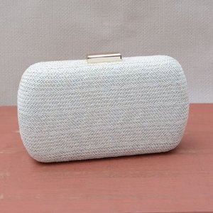 Bolsa Clutch Off-White