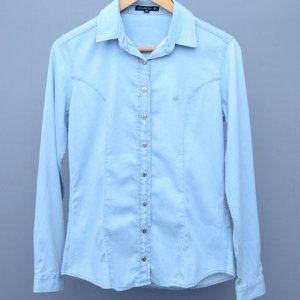 Camisa Feminina Dudalina Jeans - N 38
