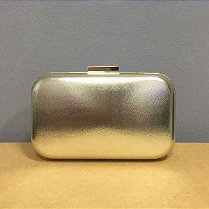 Bolsa Clutch Dourado Claro