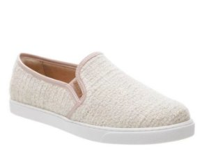 Tênis Slip On Anacapri Tweed Blush
