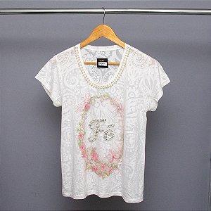 T-shirt estampada tamanho M