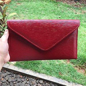 Bolsa Clutch Envelope Vermelha