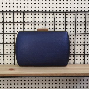 Bolsa Clutch Azul Marinho