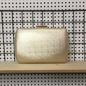 Bolsa Clutch Dourada M-567