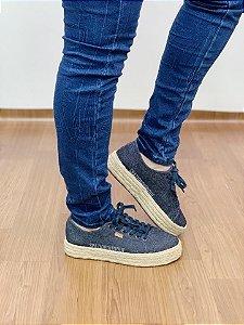 Tênis Anacapri Jeans Azul