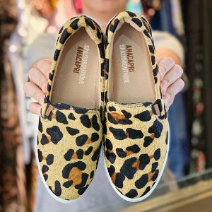 Tênis Anacapri Slip On Animal Print