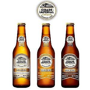 Kit Cerveja Cidade Imperial - 3 gfa (Val. 16/10/2016)