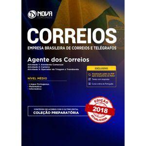 APOSTILA CONCURSO CORREIOS 2018 - AGENTE DOS CORREIOS