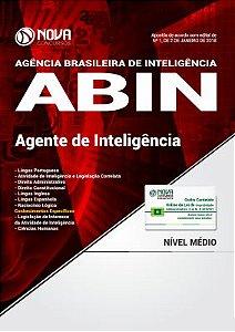 Apostila ABIN 2018 - Agente de Inteligência
