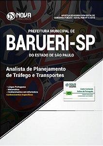 Apostila Concurso Barueri - SP 2018 - Analista de Planejamento de Tráfego e Transportes
