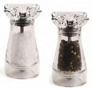 Kit 2 peças Moedor de Sal e Pimenta