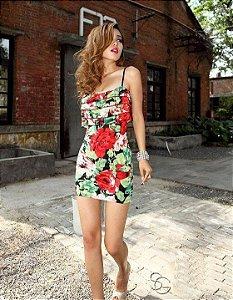 Vestido Floral Coleção Primavera Verão 2014