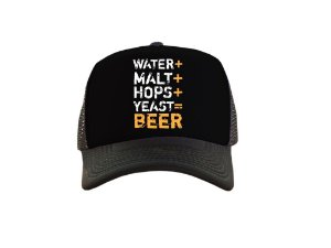 Water+ Malt+ Hops+ Yeast= Beer