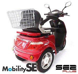 Scooter SE2 1000w MobilitySE - Triciclo Elétrico - Cadeira Motorizada para deficientes físicos, portadores de necessidades especiais e idosos