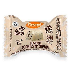 Bombom Cookies N' Cream (Sem Açúcar) 15g - Flormel