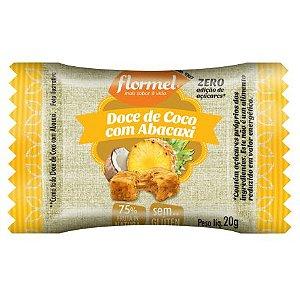 Doce de Coco com Abacaxi (Zero Açúcar) 20g - Flormel