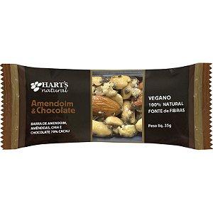 Barra de Nuts (Amendoim & Chocolate) 35g - Hart's Natural