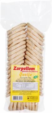 Biscoito de Polvilho Sabor Queijo - 100g - Zarpellom