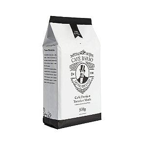Café Premium Torrado e Moído - 500g - Barão do Rio Branco