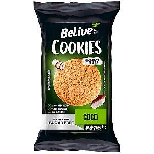Cookie Zero Açúcar e Zero Glúten (Coco) 34g - Belive