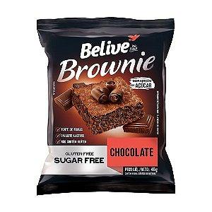 Brownie Zero Glúten e Zero Açúcar (Chocolate) 40g - Belive