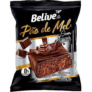 Pão de Mel Zero Glúten e Açúcar - 45g - Belive