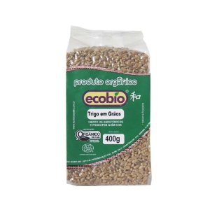 Trigo em Grãos Orgânico - 400g - Ecobio