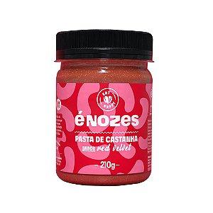 Pasta de Castanha Sabor Red Velvet - 210g - É Nozes