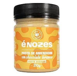 Pasta De Amendoim Com Chocolate Branco - 210g - É Nozes