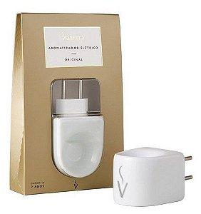 Aromatizador Elétrico Colors Branco - 1 Unidade - Via Aroma