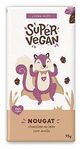Chocolate Ao Leite Com Avelãs - 95g - Super Vegan