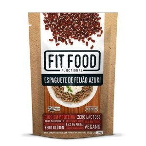 Espaguete de Feijão Azuki - 200g - Fit Food
