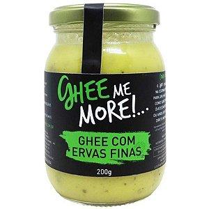 Manteiga Ghee Com Ervas Finas - 200g - Ghe Me More